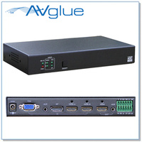 AVG-MVS-41 | VGA & Audio, DisplayPort and HDMI x 2 to HDMI Switcher