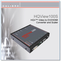 HQView100S | Composite and S-Video to DVI/HDMI Scaler
