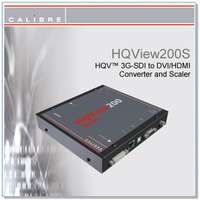 HQView 200S | 3G-SDI to DVI/HDMI Scaler