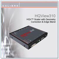 HQView 310  | DVI/HDMI/YUV to DVI/HDMI Scaler + Geometry correction