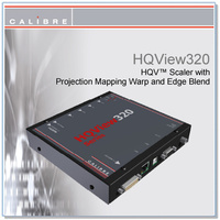 HQView 320 | DVI/HDMI/YUV to DVI/HDMI Scaler + Geometry + Warp