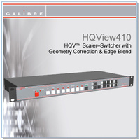 HQView 410 | 8 Input Scaler with SDI In
