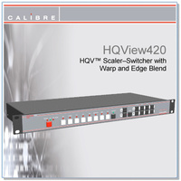HQView 420 | 8 Input Scaler with SDI In - Full Warp/Edge Blending