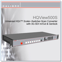 HQView 500S | Multi Input Scaler with 3G-SDI In