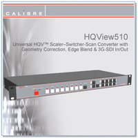 HQView 510 | 8 Input Scaler with 3G-SDI In