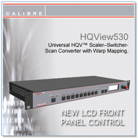 HQView 530 | 8 Input Scaler with 3G-SDI with Full Warp and Edge Blend