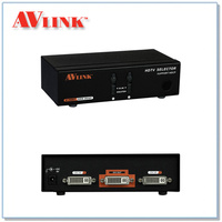 DRM-2012F | 2x1 DVI Switcher with IR and RS-232