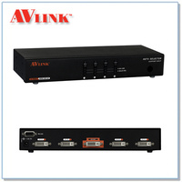 DRM-2014F | 4x1 DVI Switcher with IR and RS-232